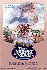 The Muppet Movie 40th Anniversary Large Poster