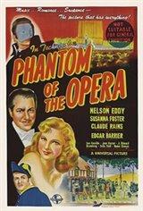The Phantom of the Opera (1943) Movie Poster