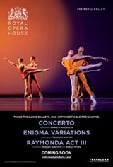 The Royal Opera House: Concerto / Enigma Variations / Raymonda Act III Movie Poster