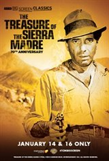 The Treasure of the Sierra Madre 70th Anniversary(1948) presented by TCM Movie Poster