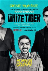 The White Tiger (Netflix) Movie Poster