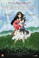 The Wolf Children Movie Poster