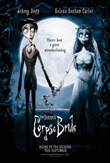 Tim Burton's Corpse Bride Movie Poster