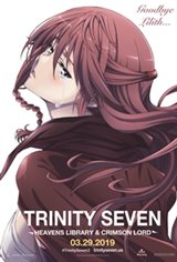 Trinity Seven The Movie 2: Heavens Library & Crimson Lord Movie Poster