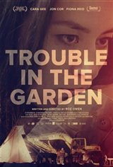 Trouble in the Garden Large Poster