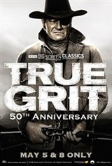 True Grit 50th Anniversary (1969) presented by TCM Movie Poster