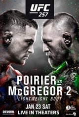 UFC 257: Poirier vs McGregor Movie Poster