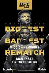 UFC 260: Miocic vs. Ngannou Movie Poster