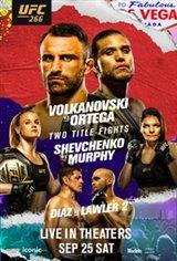 UFC 266 Movie Poster
