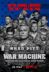 War Machine (Netflix) Movie Poster Movie Poster