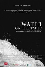 Water on the Table Movie Poster
