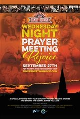 Wednesday Night Prayer Meeting Large Poster