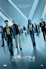 X-Men: First Class Large Poster