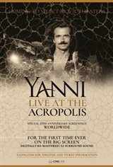 Yanni Live at the Acropolis Movie Poster