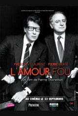 YSL: L'amour fou Movie Poster