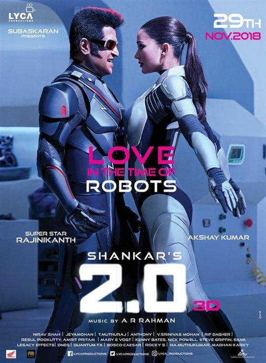 2.0 (Tamil) Large Poster