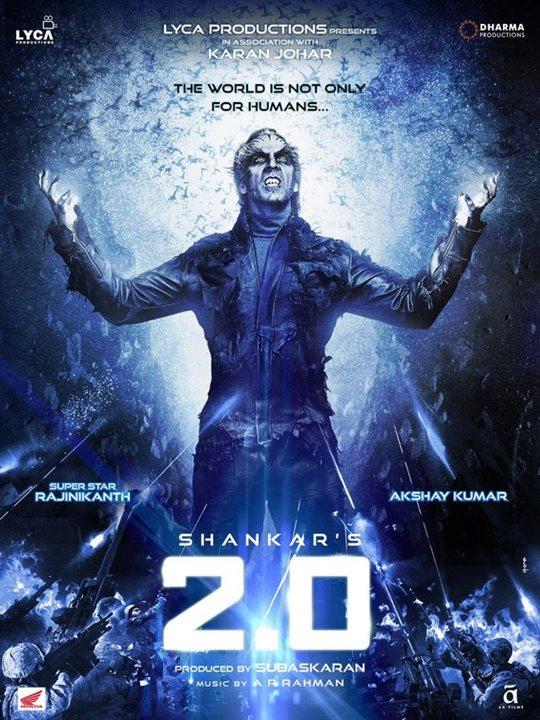 2.0 (Telugu) Large Poster