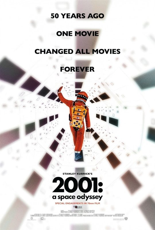 2001: A Space Odyssey - The IMAX 70MM Experience Large Poster