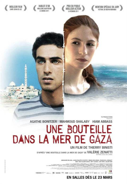 A Bottle in the Gaza Sea Large Poster