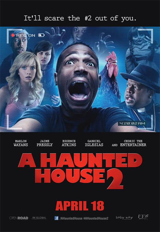 A Haunted House 2 Large Poster