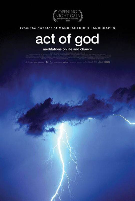 Act of God Large Poster