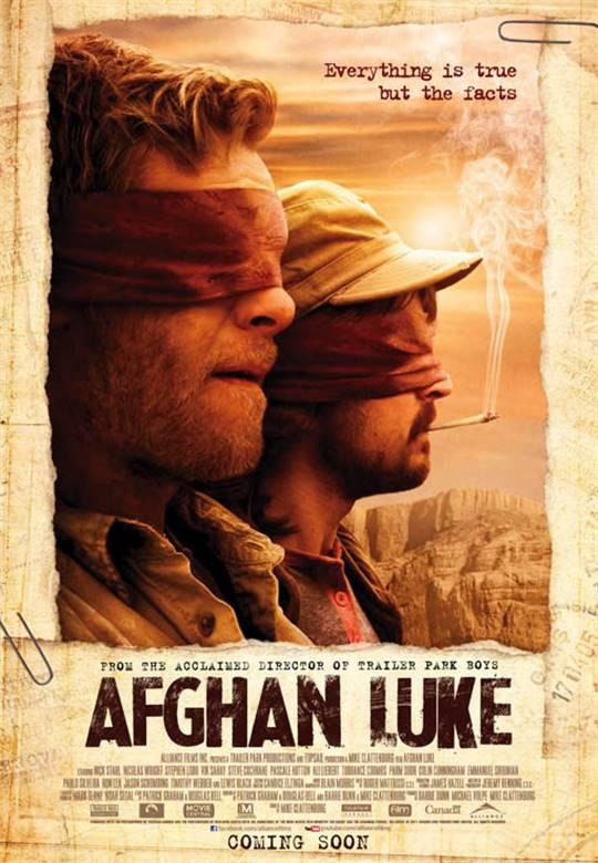 Afghan Luke Large Poster