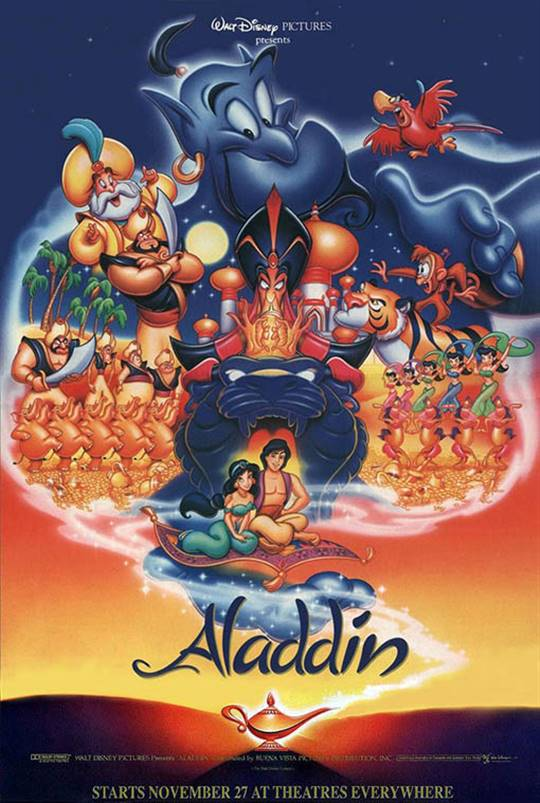 Aladdin Large Poster
