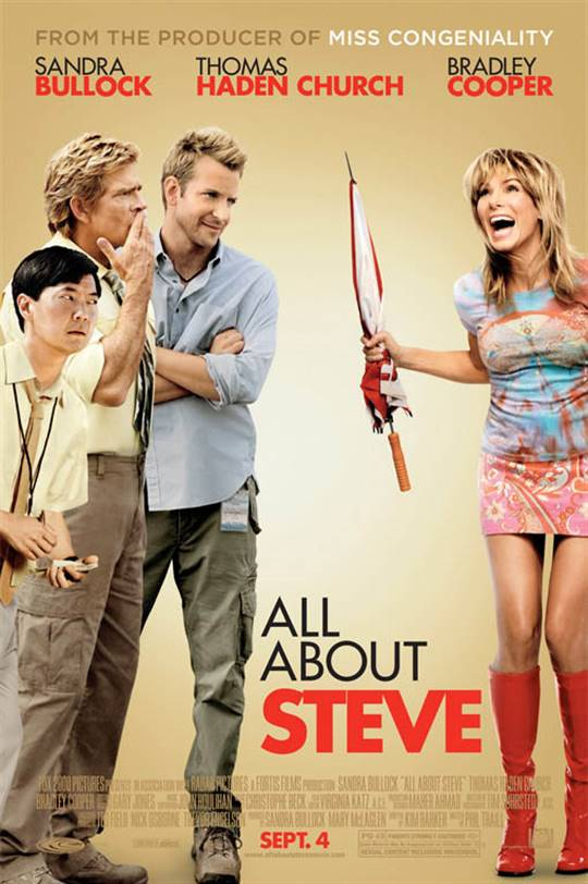All About Steve Large Poster