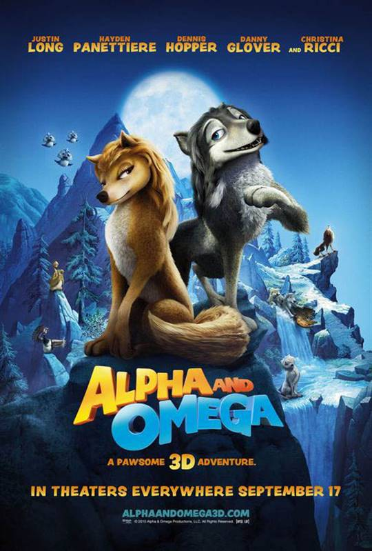Alpha and Omega Large Poster