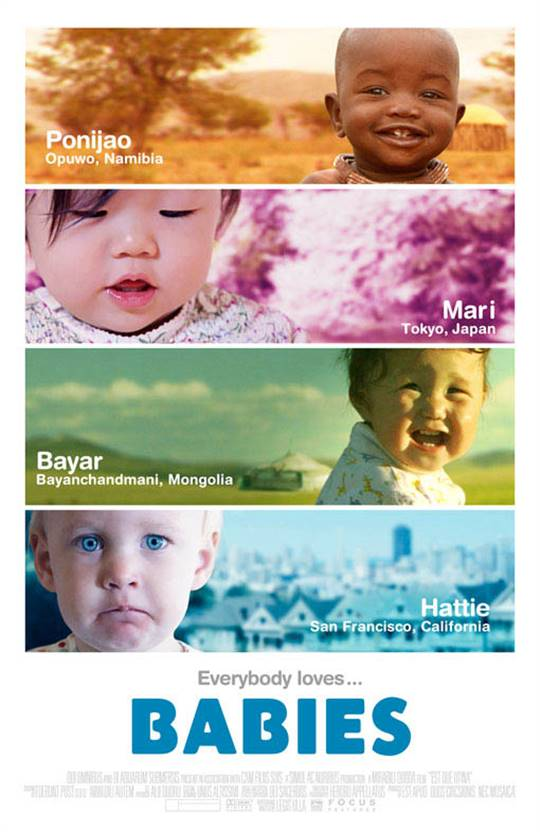 Babies Large Poster