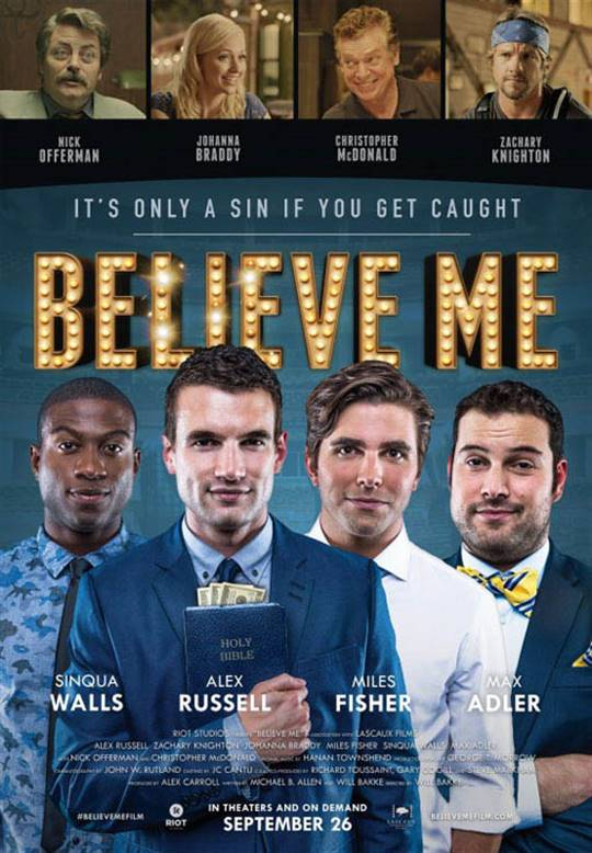 Believe Me Large Poster