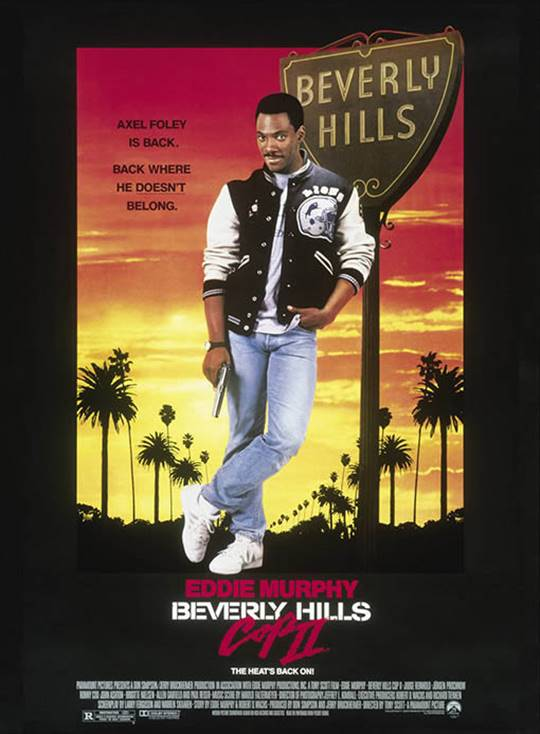 Beverly Hills Cop II Large Poster