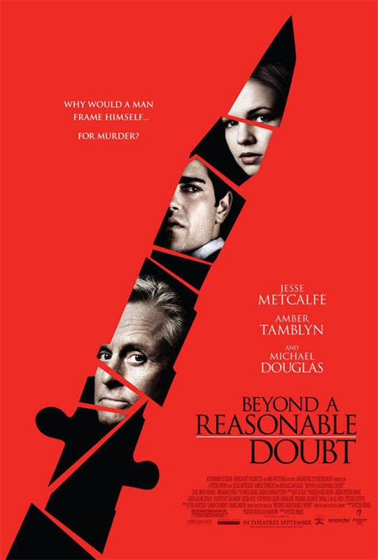 Beyond a Reasonable Doubt Large Poster