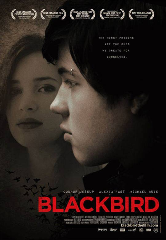 Blackbird Large Poster