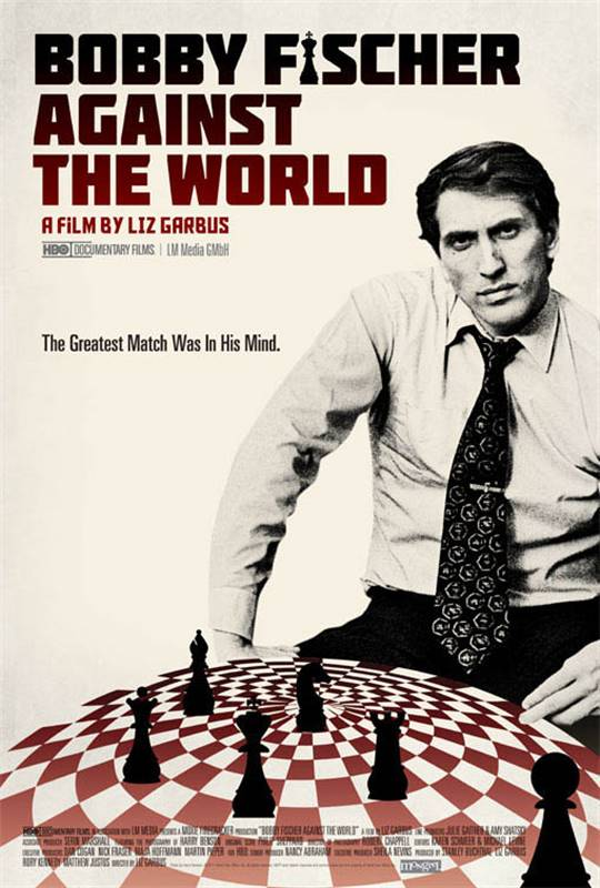 Bobby Fischer Against the World Large Poster