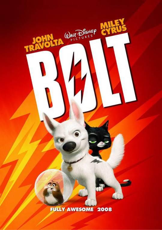 Bolt Large Poster