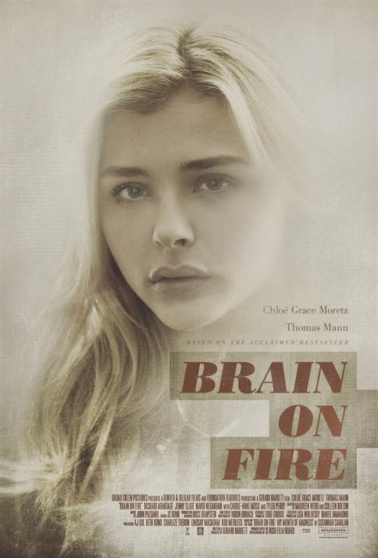 Brain on Fire Large Poster