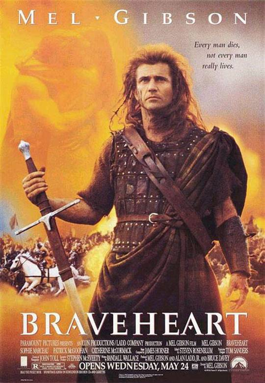 Braveheart Large Poster