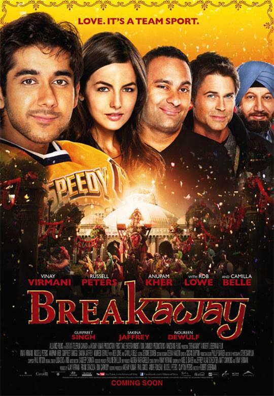 Breakaway Large Poster
