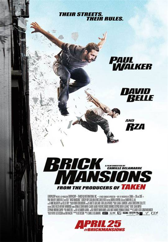 Brick Mansions Large Poster