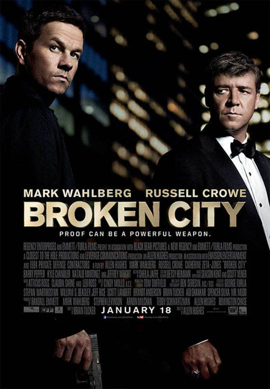 Broken City Large Poster
