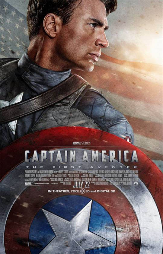 Captain America: The First Avenger Large Poster