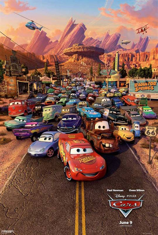 Cars Large Poster
