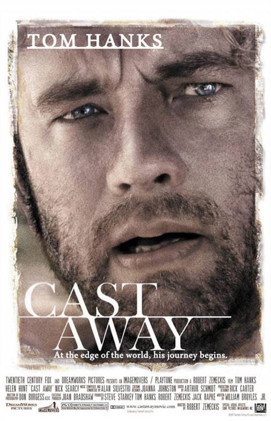 Cast Away Large Poster