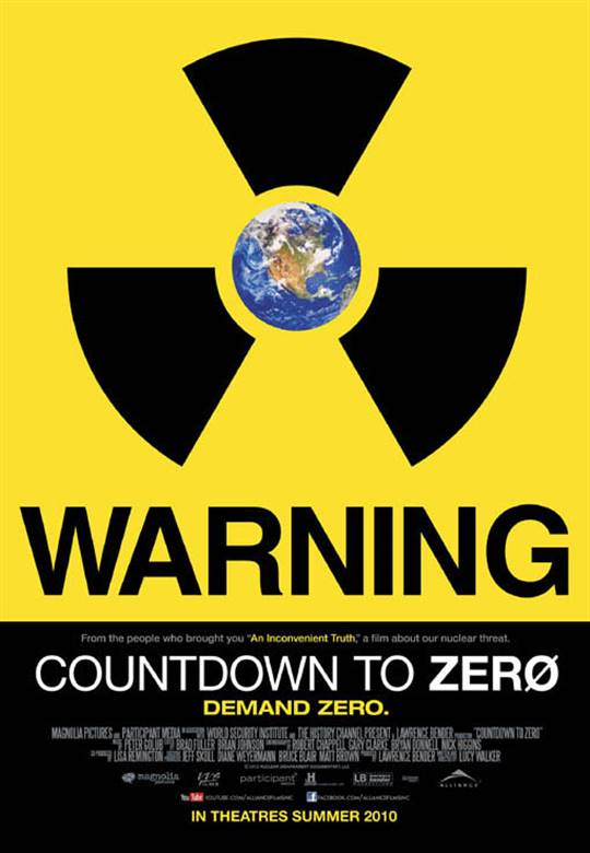 Countdown to Zero Large Poster