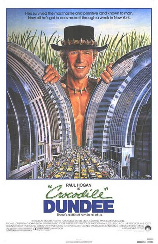 Crocodile Dundee Large Poster