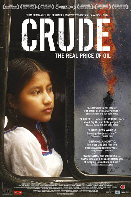 Crude: The Real Price of Oil Large Poster