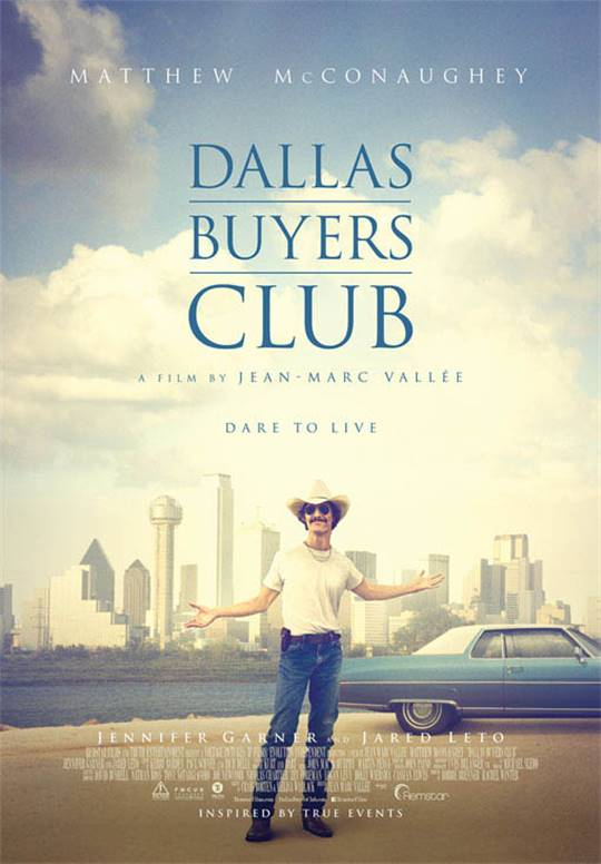 Dallas Buyers Club Large Poster
