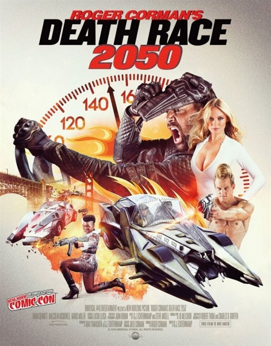 Death Race 2050 Large Poster