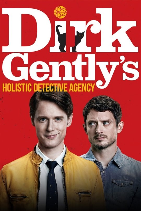 Dirk Gently's Holistic Detective Agency (Netflix) Large Poster